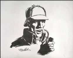 Sherlock Holmes by Neal Adams, Comic Art