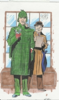 Sherlock Holmes & Dr. Watson by Dick Ayers, Comic Art
