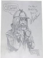 CryptKeeper Sherlock Holmes by Al Feldstein Comic Art