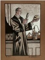 Sherlock Holmes by Matt Wagner, Comic Art