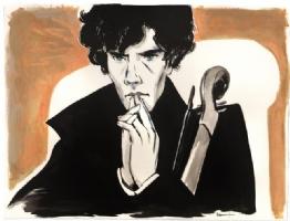 Sherlock Holmes, Comic Art