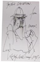 Sherlock Holmes by Ralph Steadman, Comic Art