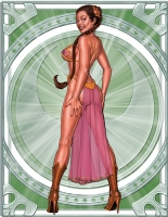 PRINCESS LEIA SLAVE 5 e Comic Art