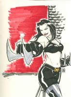 x-23 Comic Art
