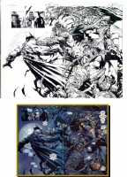 Finch - Darkness/Batman Crossover Pages 38 & 39, Comic Art