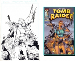 Tan - Tomb Raider 11 Cover Comic Art