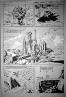1986 Transformers : The Movie ; Issue #1, Page 10, Comic Art