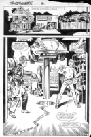 1984 Marvel Transformers: Generation 1; Issue 2, Page 7 (Bumblebee), Comic Art