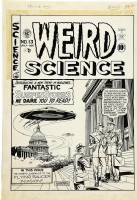 Weird Science #13 Cover Comic Art