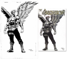 Ascension #15 Comic Art
