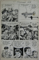 Milton Caniff Steve Canyon  Comic Art