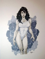 She Hulk by M.C. Wyman Comic Art