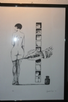 Guido Crepax Litho 3 Comic Art