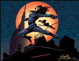 Colan Black Widow Color Comic Art