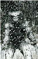 BWS Weapon X - Wolverine 1991  Comic Art