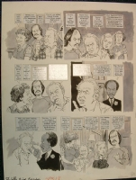 EC MAD SUPER SPECIAL #18 page 5 1975 All In The Family, Archie Bunker, Edith, Mike, Gloria, George Jefferson, Nixon, by Torres Comic Art