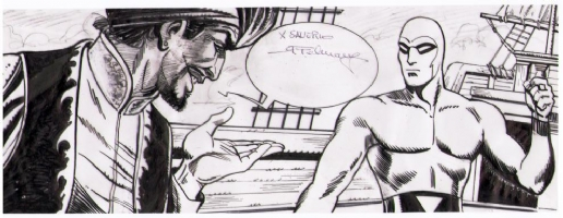 Phantom - Romano Felmang Comic Art