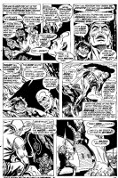 A  great Ross Andru  Doc Savage page..Sold Comic Art