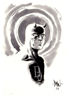 Daredevil by David Wachter Comic Art
