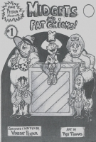 vince peeper presents MIDGETS & fat chicks Comic Art