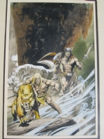 Savage Tales 5 cover by Neal Adams Comic Art