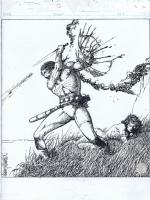 Barry Windsor Smith--Savage Tales, Conan Treasury pin up Comic Art