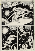 Silver Surfer 7, pg 31 Comic Art
