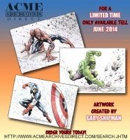 Cut Off Notice! June 2014., Comic Art