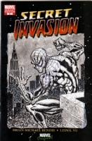 Spider-Man Secrt Invasion #1 BLANK COVER Art by Gary Shipman, Comic Art