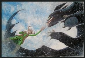 How To Train You Dragon by Gary Shipman, Comic Art