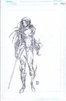 Witchblade Poster Art Comic Art