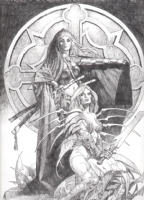 Witchblade/Magdalena-Sanjulian Comic Art