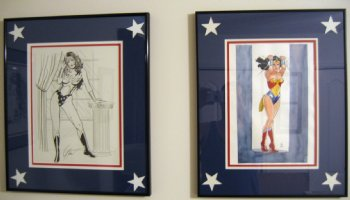 Wonder Woman Room Pictures Comic Art