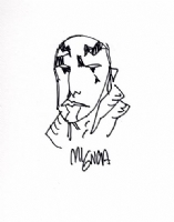 Mignola ABE sketch Comic Art