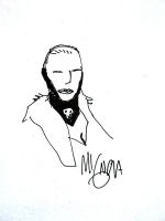 Mignola Ilsa Sketch Comic Art