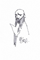 Mike Mignola Rasputin sketch Comic Art