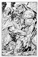Superman/Darkseid-John Byrne Comic Art