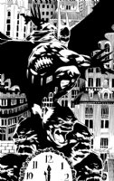Kelley Jones Batman Comic Art