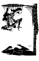 Kelley Jones Spiderman Comic Art