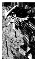 Paul Smith Batman Comic Art