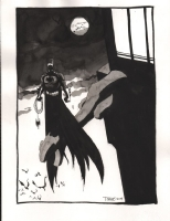 Tim Sale Batman Comic Art
