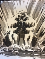 Kaare Andrews Hulk Comic Art