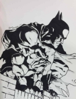 Brad Walker Batman Comic Art
