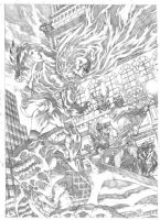 Allan Goldman Batman Comic Art