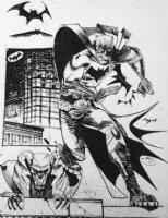 Shawn Crystal Batman Comic Art