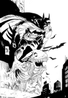 Jordi Bernet Batman Comic Art