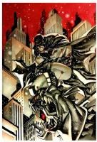 Thony Silas Batman Comic Art