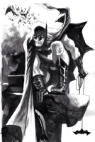 Rafael Albuquerque Batman Comic Art