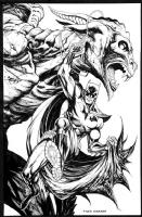 Tyler Kirkham Batman Comic Art