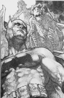 Jay Anacleto Batman Comic Art